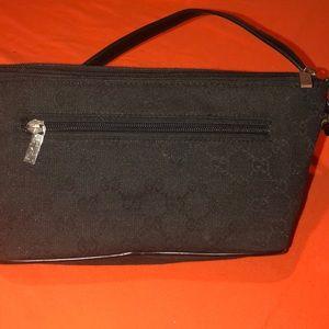 Black cloth Vintage Gucci clutch